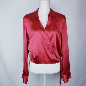 I.N.C. size 14 mauve pink blouse